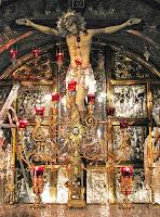 Jerusalem - Church of Holy Sepulchre - Greek Orthodox Calvary A