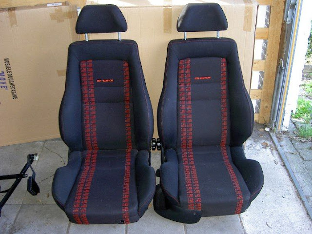 recaro gti edition interieur nieuwstaat. Black Bedroom Furniture Sets. Home Design Ideas