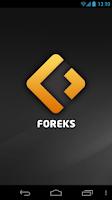 Screenshot of Foreks Mobile