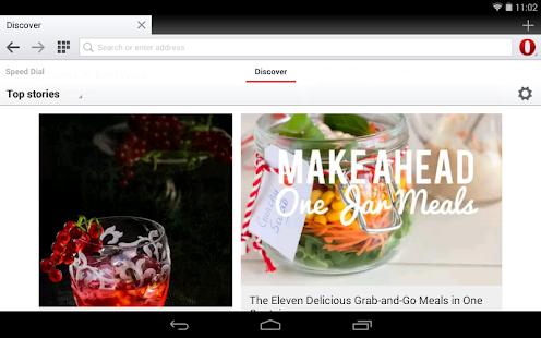 Opera browser - fast & safe Screenshot 12