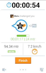 Joggify Social Running Tracker Fitness app screenshot for Android