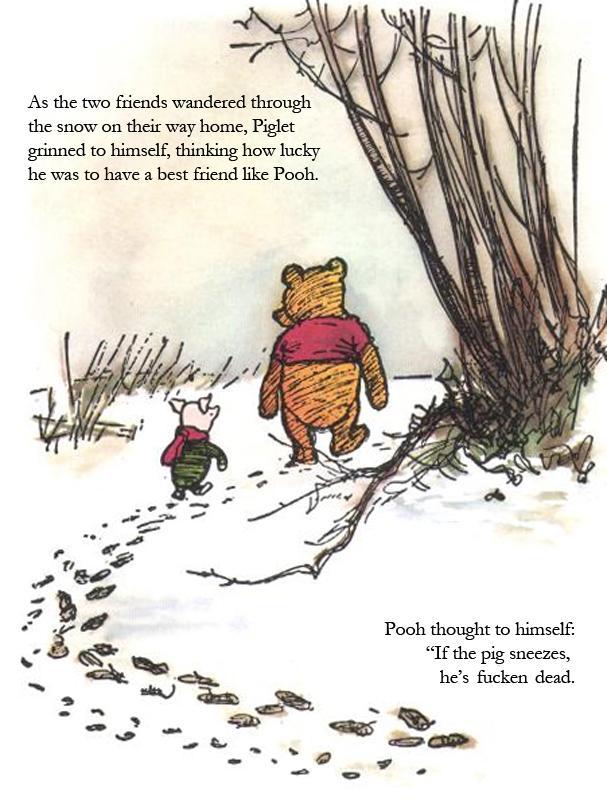 Winnie the Pooh and Swine Flu  Pic   1f34aac2a5