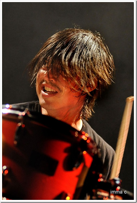 Ches Smith (Auditori de l'Atlàntida, Vic 14/5/2011)
