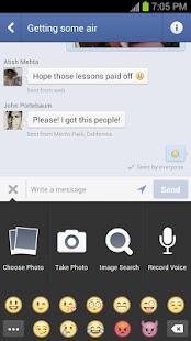 Facebook Messenger - screenshot thumbnail