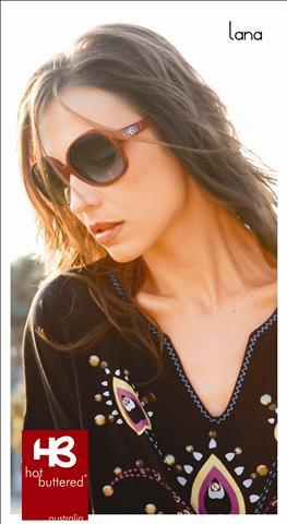 """4fdac9485e2fe Esses óculos HB Lana """"Hot Buttered"""" de sol é muito fashion! A HB fez esses  óculos reestruturando tudo que há de novo"""
