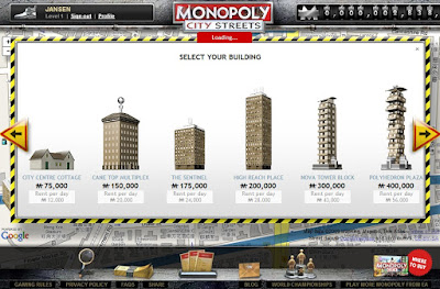 Monopoly City Streets - Buidlings