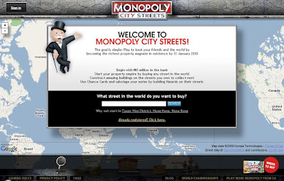 Monopoly City Streets - Entering the Game