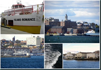 ferry collage