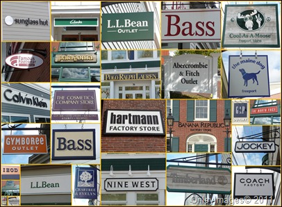 signs collage