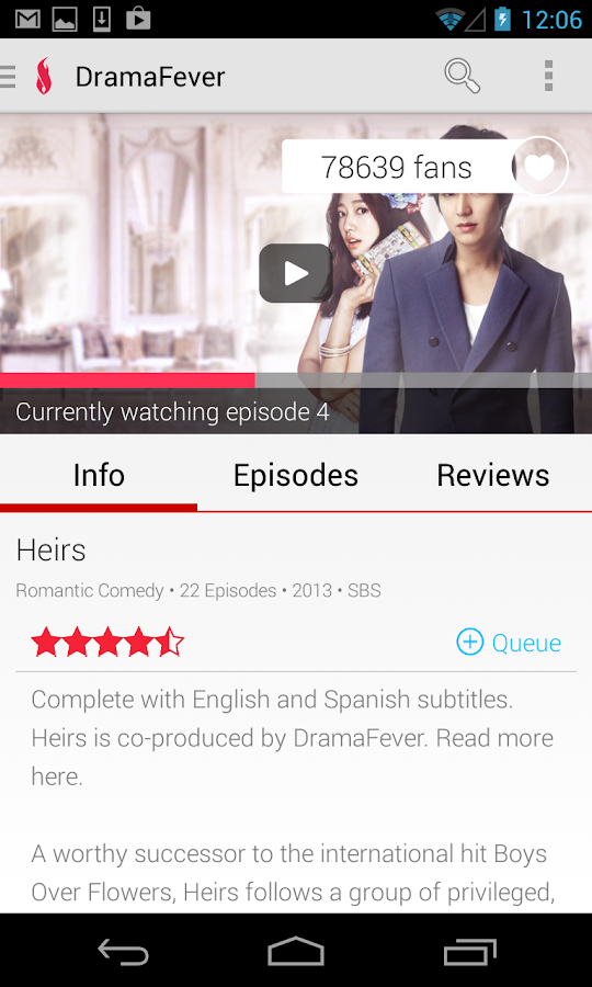 DramaFever - Dramas & Movies- screenshot
