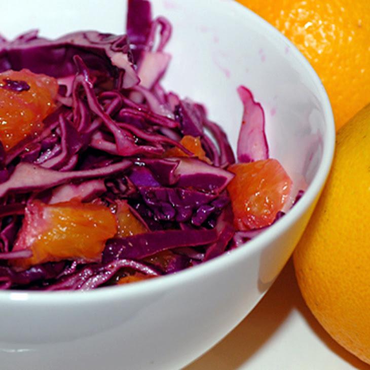 Cabbage Orange Salad Recipe