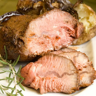 Herb-Rubbed Sirloin Tip Roast