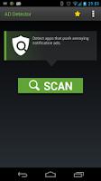 Screenshot of Ad Detector
