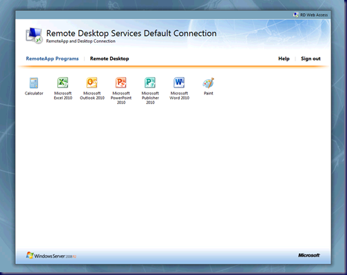 MPECS Inc  Blog: Remote Desktop Services Web Access on