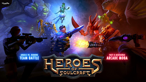 Heroes of SoulCraft - MOBA Apk Download Free for PC, smart TV