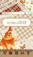 Screenshot of Cute wallpaper★Natural rabbit