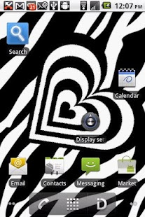 Black And White Zebra LWP PRO - screenshot thumbnail