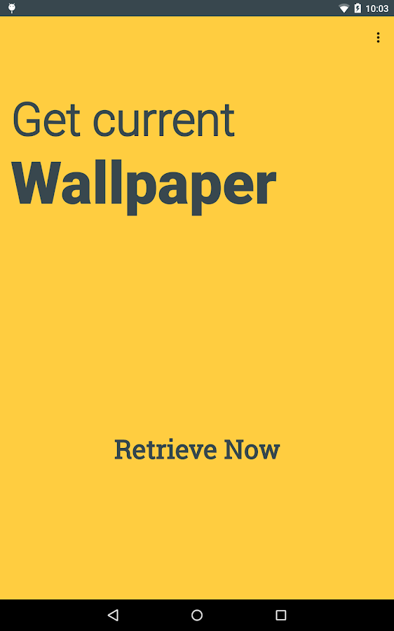 Get Current Wallpaper- screenshot
