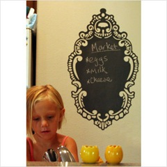 RoCoco Chalkboard Removable Wall Decal2