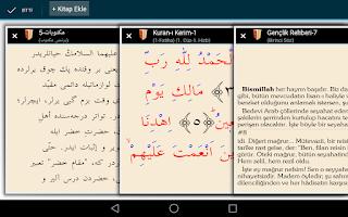 Screenshot of Risale-i Nur Okuma Android