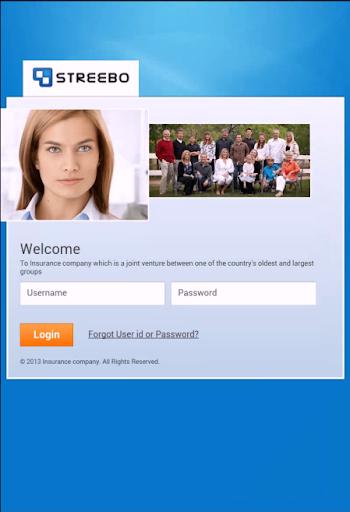 Streebo Insurance Agent app