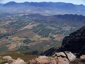 Slanghoek from Slanghoek Peak