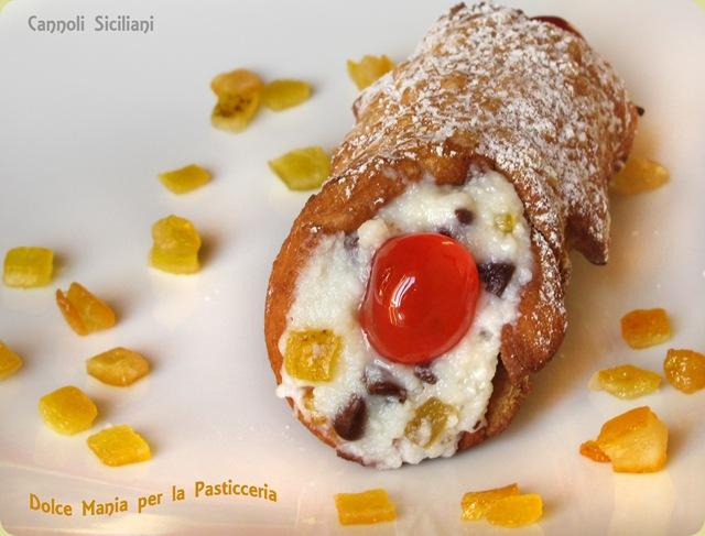 Dolce Mania per la Pasticceria: Cannoli Siciliani: la