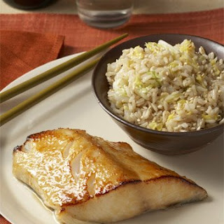 Miso-Glazed Fish Fillets.