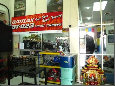 Parts - Tukar rantai & Sproket @ SportsRider Motorworks