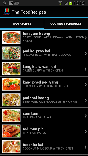 Thai Food Recipes - Thai Food