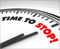 Time to stop LR - Fotolia_16302819_Subscription_XL