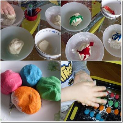 Come realizzare ovetti colorati di pasta di sale for Piccoli piani di casa con torrette