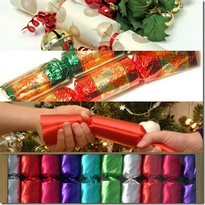 collage di chsitmas crackers dal web