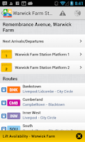 Screenshot of TransitTimes