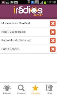 iRádios: miniatura da captura de tela