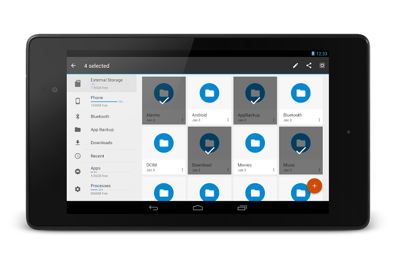 File Manager Pro - USB Storage, Rooted, Android TV Screenshot 16