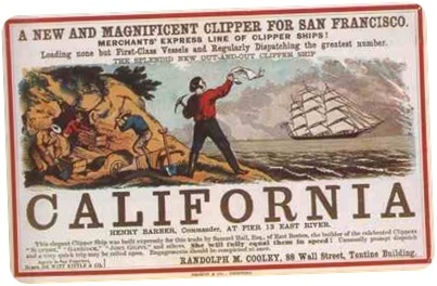 California Clipper Ship