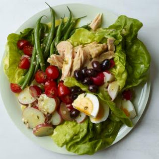 Classic Nicoise Salad.