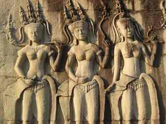 Unveiling Angkor Wat's silent dancers