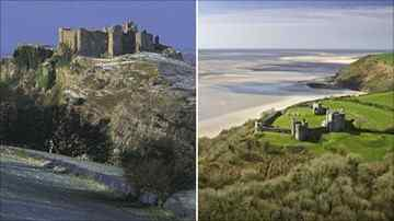Carreg Cennen and Llansteffan castles on UK's most romantic ruins list