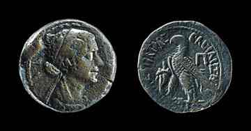 Cleopatra's image on Egyptian coins is likely her most authentic portrait.