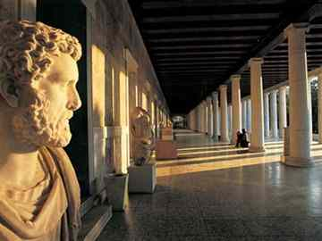 Sculptures of Stoa of Attalos in ancient Agora to be showcased