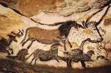 Chauvet Cave_Horses and Oxen