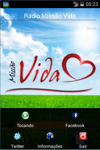 【免費音樂App】Radio Missao Vida Oficial-APP點子