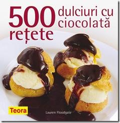 500 retete cu ciocolata