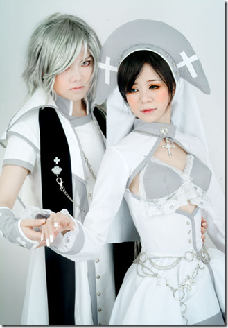 dream of teenager cosplay - sha and tender shall / jumplove and king crimson