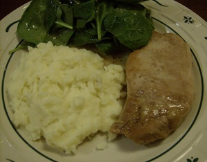 Honey Lime Pork chops cooked in the broiler