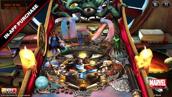 Screenshot of Marvel Pinball