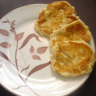 Fried Mashed Potato Patties.