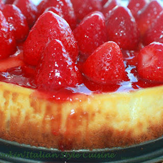 Strawberry Cheesecake Copycat Recipe Manny's Utica New York